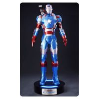 Iron Man 3 Iron Patriot 1 1 Scale Life-Size Light-Up Statue