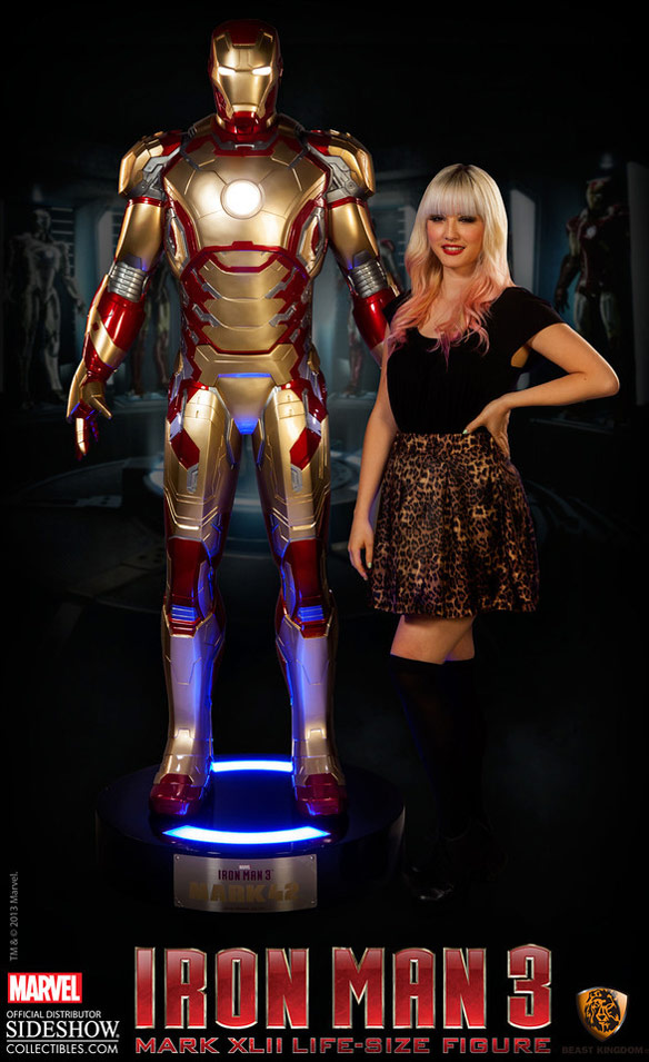 Iron Man 3 Life Size Figure