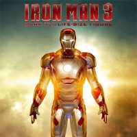 Iron Man 3 MARK 42 Life Size Figure