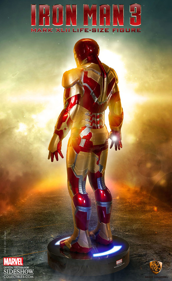 Iron Man 3 MARK 42 Life Size Statue