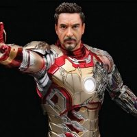 Iron Man 3 Mark 42 Battle Damaged Action Hero