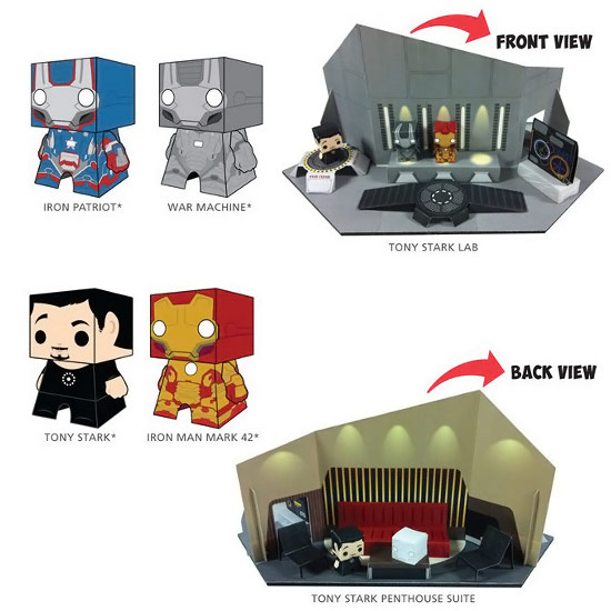 Iron-Man-3-Movie-Boxo-Papercraft-Playset