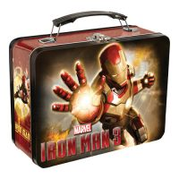 Iron Man 3 Movie Large Tin Tote Lunch Box