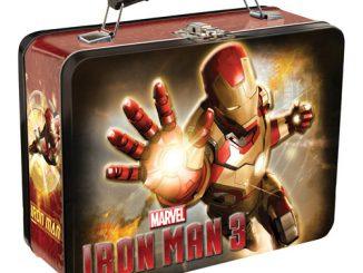 Iron Man 3 Movie Large Tin Tote Lunch Box
