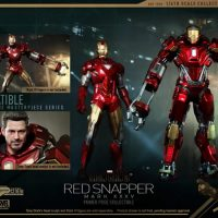 Iron Man 3 Red Snapper Figure