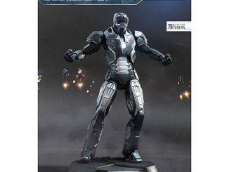 Iron Man 3 Shotgun Iron Man Mark XL Super Alloy Die-Cast Metal Light-Up 1 12 Scale Action Figure