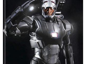 Iron Man 3 War Machine Mk II Super Alloy 1 4 Scale Die-Cast Metal Action Figure