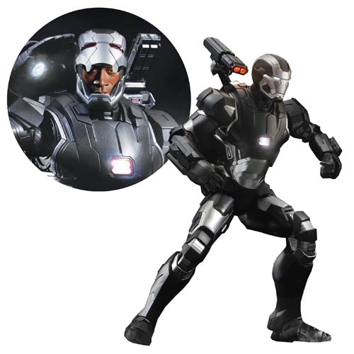 Iron Man 3 War Machine Mk II Super Alloy Quarter Scale Die-Cast Metal Action Figure