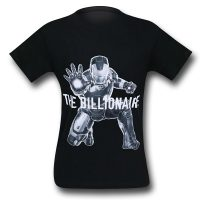 Iron Man Avengers Age of Ultron Billionaire T-Shirt