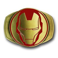 Iron Man Brass Belt Buckle