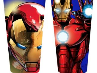 Iron Man Close-Up Pint Glass 2-Pack