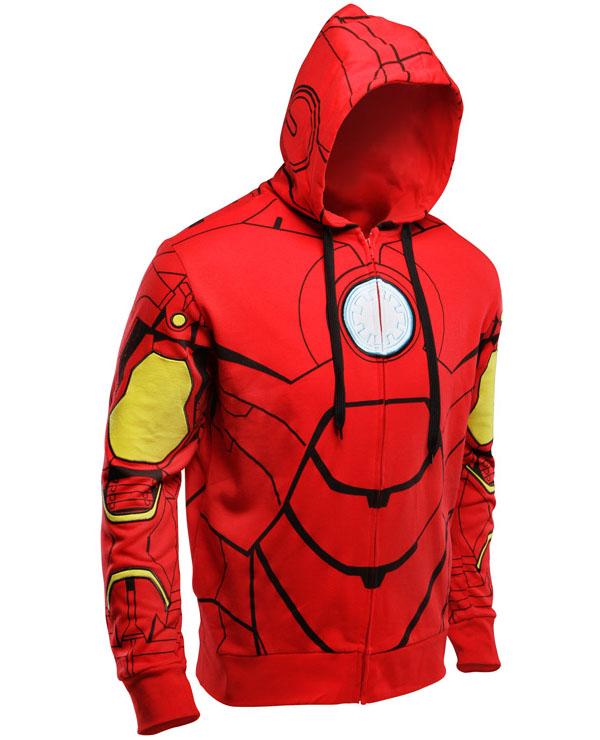 Iron Man Costume Hoodie