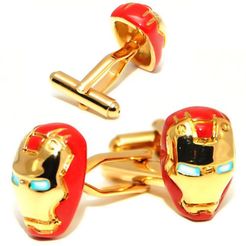 Iron-Man-Cufflinks
