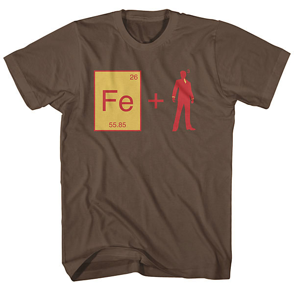 Iron Man Equation Shirt