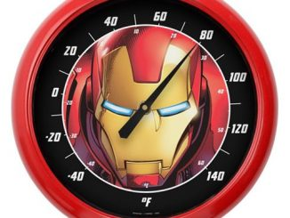 Iron Man Face 10-Inch Thermometer
