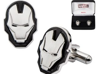 Iron Man Face Stainless Steel Cufflinks