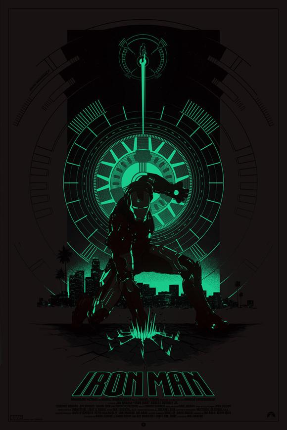 Iron Man Gid Poster