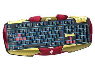 Iron Man Gaming Keyboard
