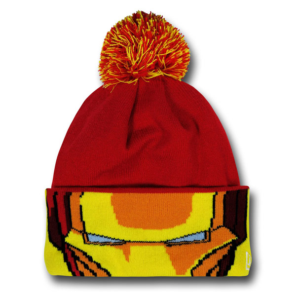 Iron Man Helmet Beanie