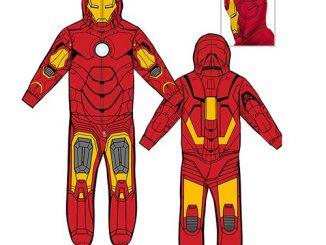 Iron Man Hooded Onesie