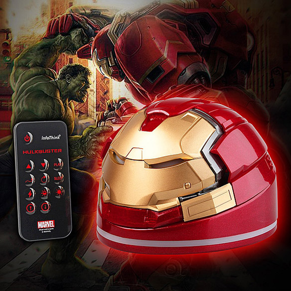 Iron Man Hulkbuster USB Remote Control Power Lamp