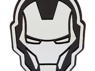 Iron Man Injection Molded Emblem