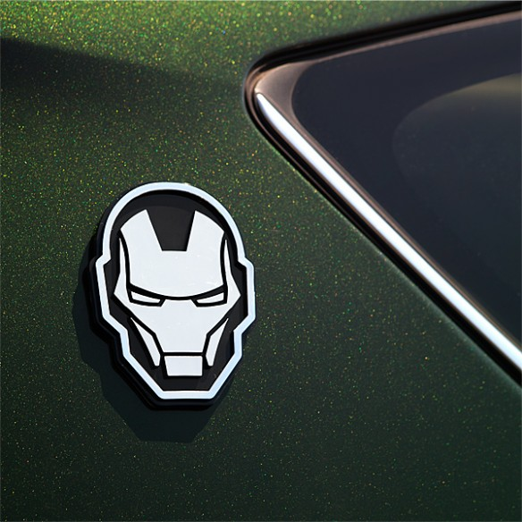 Iron Man Injection Molded Emblem