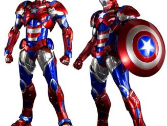 Iron Man Iron Patriot Re Edit Iron Man Light-Up Action Figure