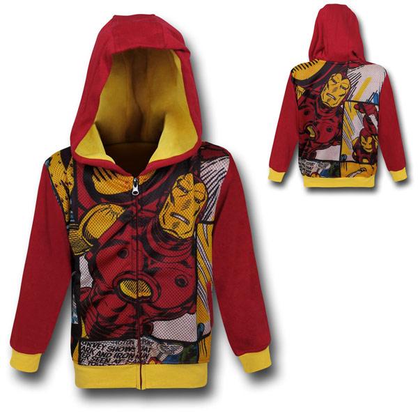Iron Man Kids Hoodie