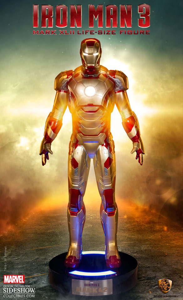 Iron Man MARK 42 Life Size Figure
