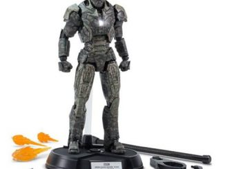Iron Man Mark 23 Shades Armor Die-Cast Metal Action Figure