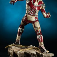 Iron Man Mark 42 Quarter Scale Maquette Back
