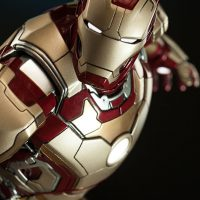 Iron Man Mark 42 Quarter Scale Maquette Detail