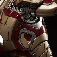 Iron Man Mark 42 Quarter Scale Maquette Shoulder Detail