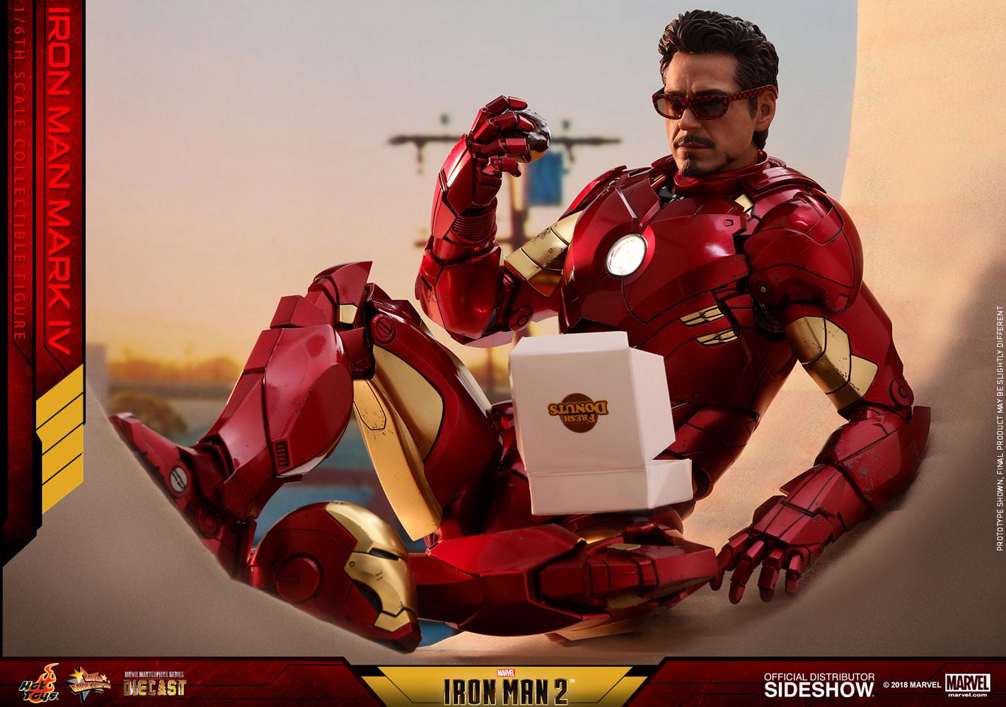 Imà Genes De Iron Man: Iron Man Mark IV Sixth-Scale Figure