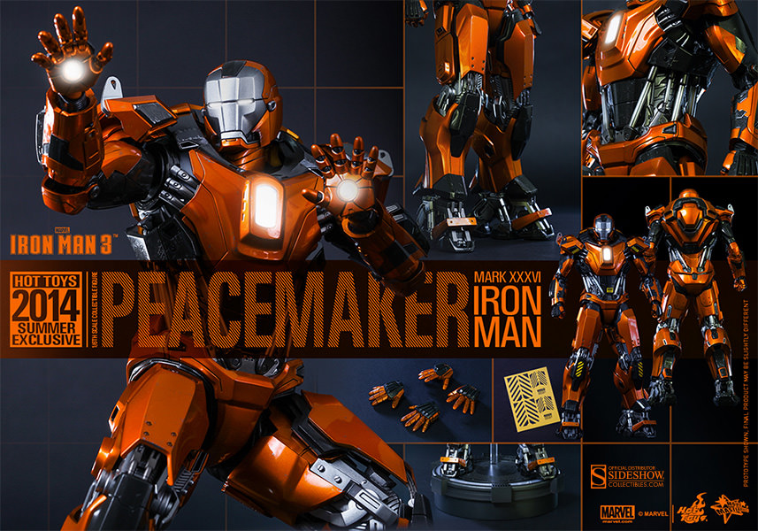 Iron Man Mark 36 Peacemaker Iron Man Mark Peacemaker