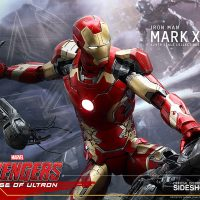 Iron Man Mark XLIII Quarter-Scale Figure with Ultron