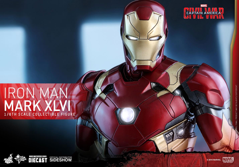 Iron Man Mark XLVI Sixth-Scale Figure