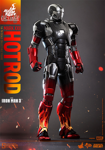 Iron Man Mark XXII Hot Rod Sixth-Scale Figure