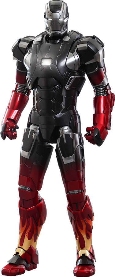 Iron man mark xxii hot rod sixth scale figure - Image de iron man ...