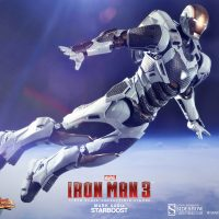 Iron Man Mark XXXIX Starboost Figure Flying