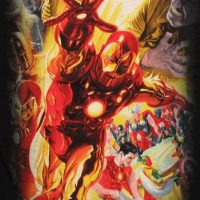 Iron Man Marvel 75th Special Edition Alex Ross Shirt