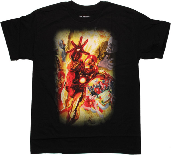 Iron Man Marvel 75th Special Edition Alex Ross T-Shirt