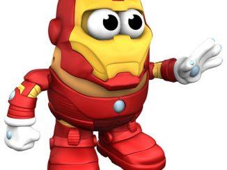 Iron Man Marvel Comics Mr. Potato Head