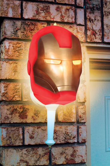 Iron Man Porch Light Cover