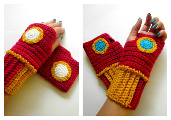 Iron Man Power Wristees Wristwarmers