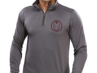 Iron Man Quarter Zip Pullover