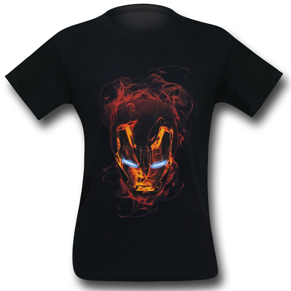 Iron Man Smokey Mask T-Shirt