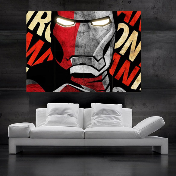Iron Man Wall Art