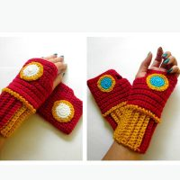 Iron Man Wristwarmers